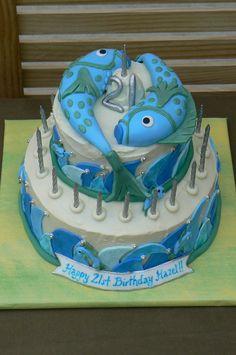 pisces cake