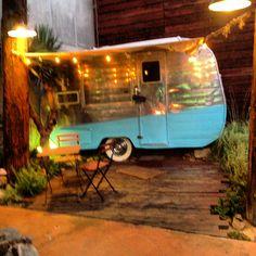 vintage trailer shop at the camp @eco artopia