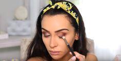 Makeup Tutorials & Makeup Tips : Step Plum Shade Application Plum Makeup, Boho Makeup, Diy Makeup, Makeup Tips, Beauty Makeup, Makeup Ideas, Beauty Care, Beauty Tips, Eyeshadow Crease