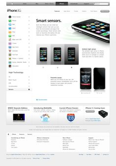 Apple - iPhone - Features - Sensors (11.06.2008)