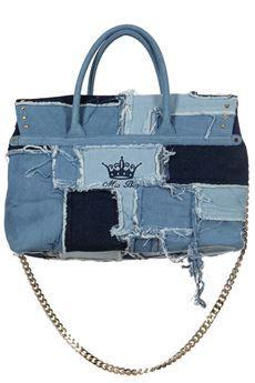 #borsa #miabag in pechwork denim #moda #donna #fashion #woman #SS2015 #bforeshop #shoponline #Shop