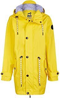 Friesennerz   Maritime Jacke   Regenjacke   veredelt   Das Original aus Ostfriesland   Modell Norderney   Regenmantel   Gelb Blau Yellow Navy - 79.99 - 4.3 von 5 Sternen - Regenjacke Herbst 2019