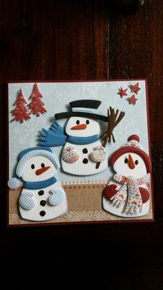 T T three snowmen