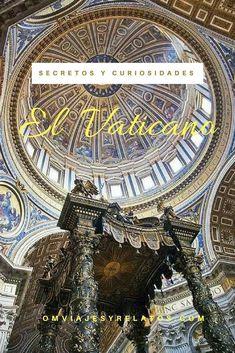 Curiosidades del Vaticano y sus Museos: un recorrido por los lugares más impactantes. Travel Around The World, Around The Worlds, Slow Travel, Eurotrip, World Traveler, Italy Travel, City Photo, Places To Visit, Wanderlust