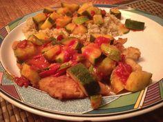 Chicken and Summer Veggies | Dish + Drink