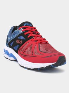 Get a sporty look by pairing these shoes with a white T-shirt & track pants available @ Looksgud.in  #SportShoes #Fila