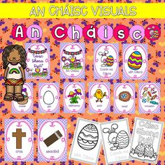 An Cháisc visuals Irish Language, Page 3, School Resources, Primary School, Preschool, Comics, Fictional Characters, Ideas, Elementary Schools
