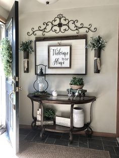 The rustic living room wall decor is certainly very eye-catching and stunning. Below is a collection of rustic living room wall decor. Rustic Apartment Decor, Farmhouse Decor, Modern Farmhouse, Farmhouse Style, Farmhouse Shelving, Farmhouse Front, Apartment Entrance, Farmhouse Furniture, Rustic Furniture