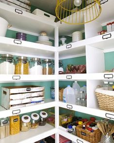 Pantry Organization With Wooden Crates | TheBestWoodFurniture.com