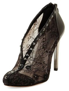 Black lace high heels by bcbg... wear or not????
