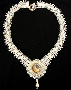 Atilla Lace Necklace   Flickr - Photo Sharing!
