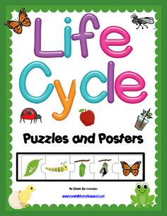 Puzzles & Posters for NINE popular classroom life cycles! Preschool Science Activities, Sequencing Activities, Kindergarten Science, Science Lessons, Lessons For Kids, Teaching Science, Science Education, Education Quotes, Teaching Resources