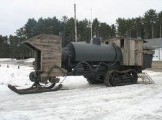 Steam on track and ski