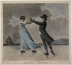 Piercy Roberts and J.C. Stadler after Adam Buck, Skating Lovers, 1800