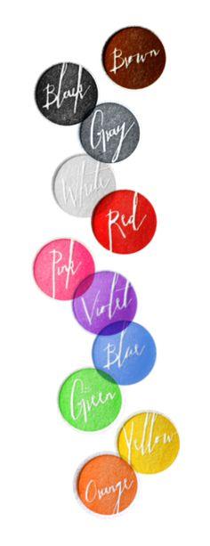 Letterpress Color Palette