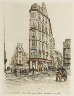 Les Boulevards de  Paris, A.-P Martial, 1877