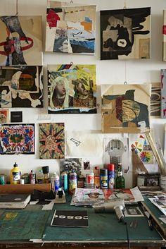 In the studio of Martin O'Neill