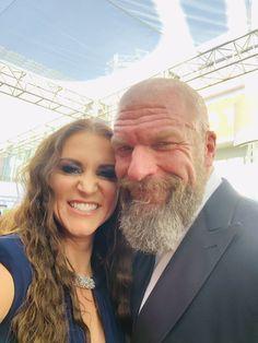 Triple H & Stephanie McMahon Wwe Couples, Celebrity Couples, Mcmahon Family, Paul Michael, Stephanie Mcmahon, Scruffy Men, Shawn Michaels, Triple H, Becky Lynch