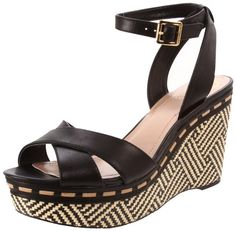 Ankle Strap Wedge Sandals by Vince Camuto