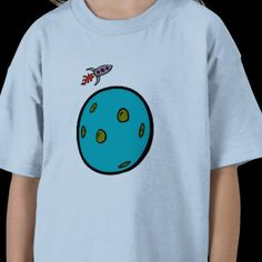Planet and Rocket One Tee Shirts