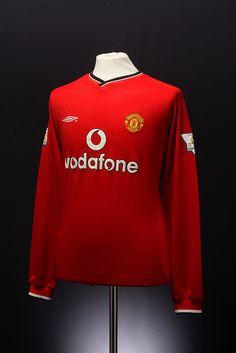 Manchester United Football Shirt Home 2000 - 2002