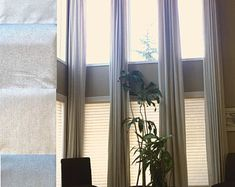 Off White,Beige Cream Gray Custom Made feet Length 2 Story Room (Stone White, 120 Long Window Curtains, Extra Long Curtains, Curtains 1 Panel, Thick Curtains, Ceiling Curtains, Curtains With Rings, Sheer Curtains, Grommet Curtains, Linen Curtain