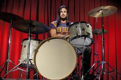 Brad Wilk of Rage against The Machine & Audioslave. Also sat in for Bill Ward on the 2013 Black Sabbath tour, #drummers http://www.pinterest.com/TheHitman14/musician-drummers-%2B/