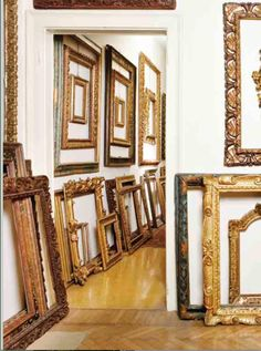 Articles, interviews and reviews to do with antique and modern picture frames