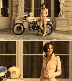 Doctor your style, here's a bandaid. – Sarah Goesling Doctor your style, here's a bandaid. Kiera on a cafe racerrrrr, yes pleaseeee Keira Knightley, Keira Christina Knightley, Lady Biker, Biker Girl, Cafe Racer Girl, Hot Bikes, Moto Guzzi, Motorcycle Style, Biker Chick