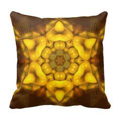 ChickPea Mandala Pillow (square)