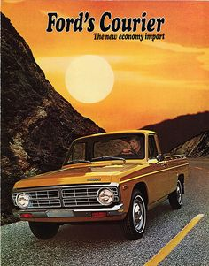 1972 Ford Courier.  My second vehicle, only it was red.