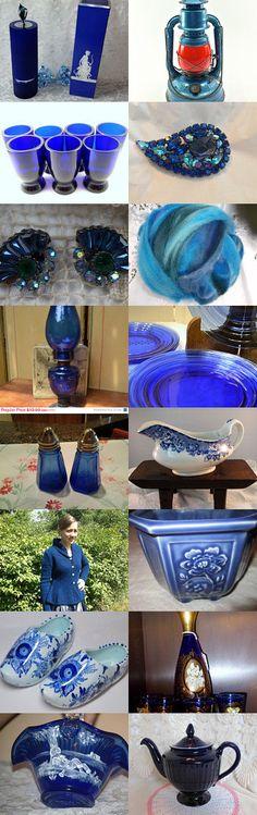 Midnight Blue by goodshepherdfibers on Etsy--Pinned with TreasuryPin.com