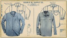 RRL Supply Co. Nautical inspired Collection 2014