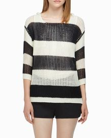 Stylemint, stylish sweater, black and white, casual, clothing