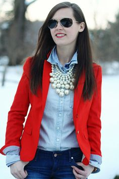 jillgg's good life (for less) | a style blog: my everyday style: preppy date night!