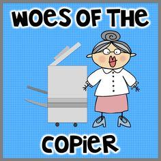 """Parent volunteers called """"copycats"""" can help with teachers' paperwork."""