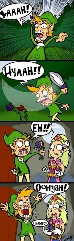 Link is a romantic