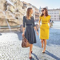 simple date outfits Date Outfits, Navy Dress Outfits, Casual Skirt Outfits, Spring Outfits, Work Outfits, Boden Clothing, Boden Women, Gamine Style, Classic Outfits