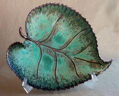 Susan Anderson Ceramics - Leaf Plate (for sale)