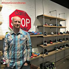 #HomeGrownStories- Ryan King is a Piqua High School graduate who has lived in Piqua his entire life. He and his wife  Amanda also a PHS graduate share a passion for running. In December 2013 Ryan & Amanda opened  a running store called @cantstoprunningco on Main Street in downtown Piqua. CSRC received a lot of community support as it was opening & the business continues that spirit of support by offering many community running & walking events. The store features running shoes clothing…