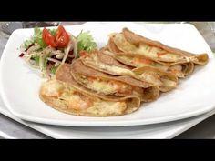 Tacos Gobernador, Geronimo, Seafood, Bacon, Breakfast, Ethnic Recipes, Youtube, Sweet Recipes, Eating Clean