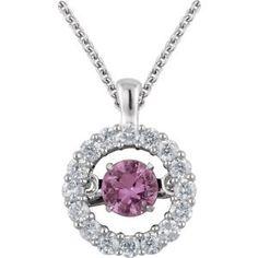651377 / 14kt White / Sapphire / Pink / Diamond / Polished / Pink Sapphire And 1/5CTW Diamond Mystara Nck #RoseQuartz #pantone Locate a Jeweler Here: http://www.stuller.com/locateajeweler?searchTerm=locate%20a%20jeweler