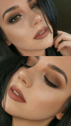 Makeup | Brown smokey eyes | Maquillaje Casual | dia/noche