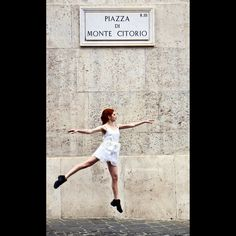 Dancing in Rome. Print on Fine Art Paper, size 50x70 cm only 10 numbered and signed copies available $ 110 - € 90 plus shipping write to: thelightbox.it@gmail.com