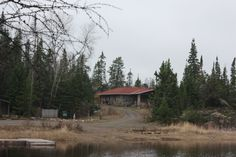 Chik-Wauk Museum and Nature Center at the end of the Gunflint Trail. I would really love to be sitting inside reading a nice book right now...