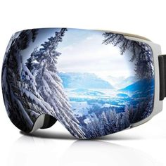 YAKAON Y Unisex Goggles Snowboard Frameless Spherical UV400 Anti-fog REVO Mirror   Sporting Goods, Winter Sports, Clothing   eBay!