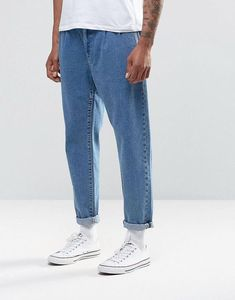 Shop ASOS DESIGN double pleat straight leg jeans in light blue. With a variety of delivery, payment and return options available, shopping with ASOS is easy and secure. Shop with ASOS today. Mode Outfits, Retro Outfits, Vintage Outfits, Fashion Outfits, Fashion Trends, Fashion Tips, Men With Street Style, Men Street, Street Wear