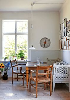 my scandinavian home: A Swedish artist's home in a former school house