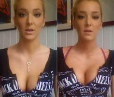 Passo a passo em fotos mostra 5 dicas espertas para ficar com o peito muito maior em minutos
