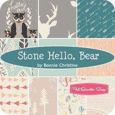 Stone Hello, Bear Fat Quarter BundleBonnie Christine for Art Gallery Fabrics - Fat Quarter Bundles | Fat Quarter Shop